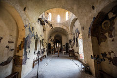 Asen`s Fortress inside view Royalty Free Stock Photography