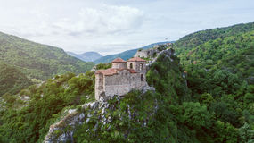 Asen`s Fortress In Sunny Day royalty free stock photos