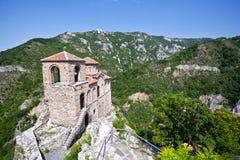 Asenova krepost Assen's fortress. Asenova krepost is located in Asenovgrad, Bulgaria Stock Photos