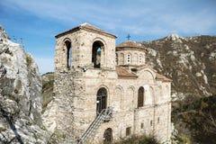 Asens fästning i Asenovgrad, Bulgarien Arkivbilder