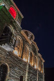 Asens Festung nachts stockfotos