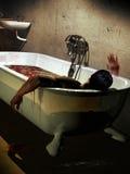 Asesinado en el baño libre illustration