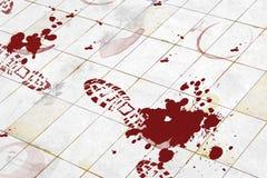 Asesinato ilustración del vector