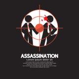 Asesinato que mira a través de un francotirador View libre illustration