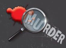 Asesine la evidencia Imagenes de archivo