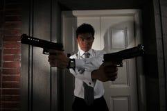 Asesino 111 del agente Foto de archivo libre de regalías
