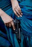 Asesino de señora Foto de archivo libre de regalías