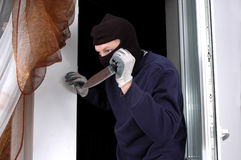 Asesino en casa Fotografía de archivo libre de regalías