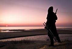 Asesino en el mar imagen de archivo libre de regalías