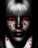 Asesino femenino Imagen de archivo libre de regalías