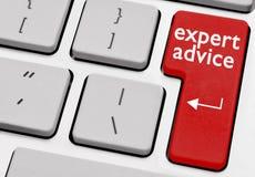 Asesoramiento de experto Imagen de archivo