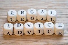 Asesoramiento jurídico fotos de archivo