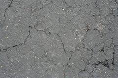 asfalt pękający Zdjęcie Royalty Free