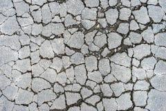 Asfalt pęka na drodze 1 Fotografia Stock