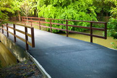Asfalt road bridge pathway Stock Photography