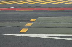 asfalt sztuki. Zdjęcie Stock
