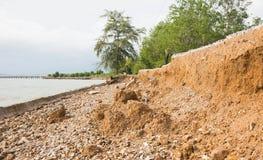 asfalt under lagervägen smutsar Arkivbild