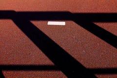Asfalt van de van de achtergrond lijn het lichte kleur bruine abstracte schaduw witte vloer Stock Fotografie