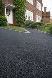 asfaltdrev Arkivfoton