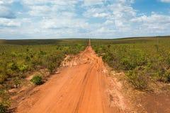 asfalterad inte väg Fotografering för Bildbyråer