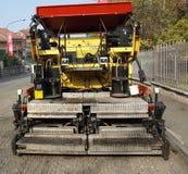 asfaltmaskin Royaltyfria Bilder