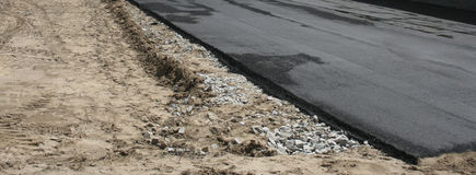 asfalto Fotografía de archivo libre de regalías
