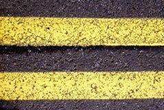 Asfalto della via Fotografia Stock Libera da Diritti