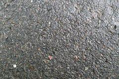 Asfalto mojado Fotografía de archivo