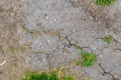 Asfalto viejo de la textura Foto de archivo