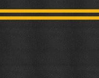 Asfaltowa autostrady drogi tekstura Zdjęcia Royalty Free