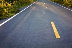 asfaltowa droga Zdjęcie Royalty Free