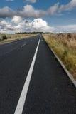 Asfaltowa droga w UK Obrazy Royalty Free