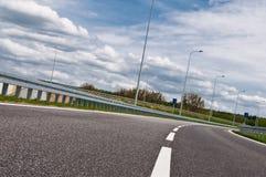 asfaltowa koszowa autostrada Zdjęcie Stock