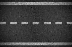 Asfaltowa uliczna drogowa ilustracja ilustracja wektor