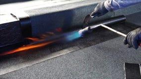 Asfaltowy dachowy narzut z ogieniem, bitum wodna ochrona zbiory