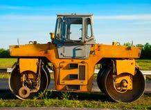 asfaltowy rolownik Zdjęcia Royalty Free