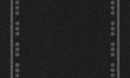 Asfaltowy tło z płatkami śniegu Obraz Stock