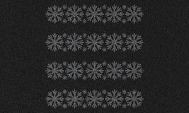 Asfaltowy tło z płatkami śniegu Obrazy Royalty Free