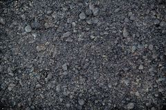 Asfalttextur, vägtextur Sprickaasfaltbakgrund royaltyfri fotografi