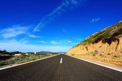 asfaltväg Royaltyfria Foton