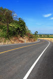 asfaltväg Arkivbilder