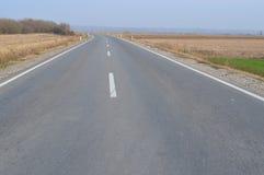 Asfaltväg Arkivbild