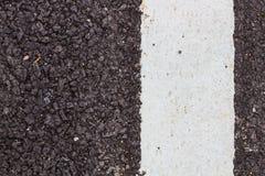 Asfaltväg Arkivfoto