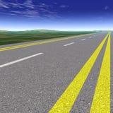asfaltväg Royaltyfri Fotografi