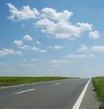 asfaltväg Arkivfoton