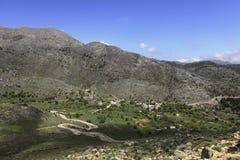 Asfendos plain in Crete Royalty Free Stock Photo