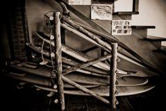 Asga una tabla hawaiana Fotografía de archivo