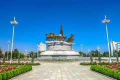 Asgabat il Turkmenistan Akhal Teke 03 immagine stock libera da diritti