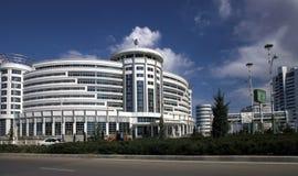 Asgabat, il Turkmenistan - 6 aprile 2017 Parte del compl di sport Fotografie Stock Libere da Diritti