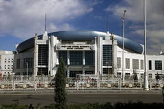 Asgabat, il Turkmenistan - 6 aprile 2017 Parte del compl di sport Fotografia Stock Libera da Diritti